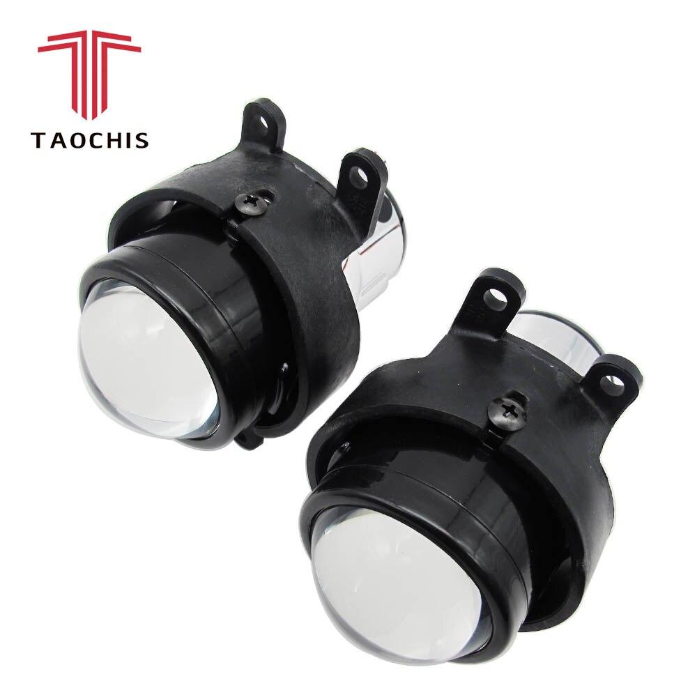 TAOCHIS M6 2.5 inch Fog light Projector Lens OEM For Toyota Corolla Prado Camry Yaris Levin foglight lamp Hid Bi-xenon H11 kit fog light lens for toyota 2 5 full metal bi xenon projector lens with xenon kit auto h11 fog light