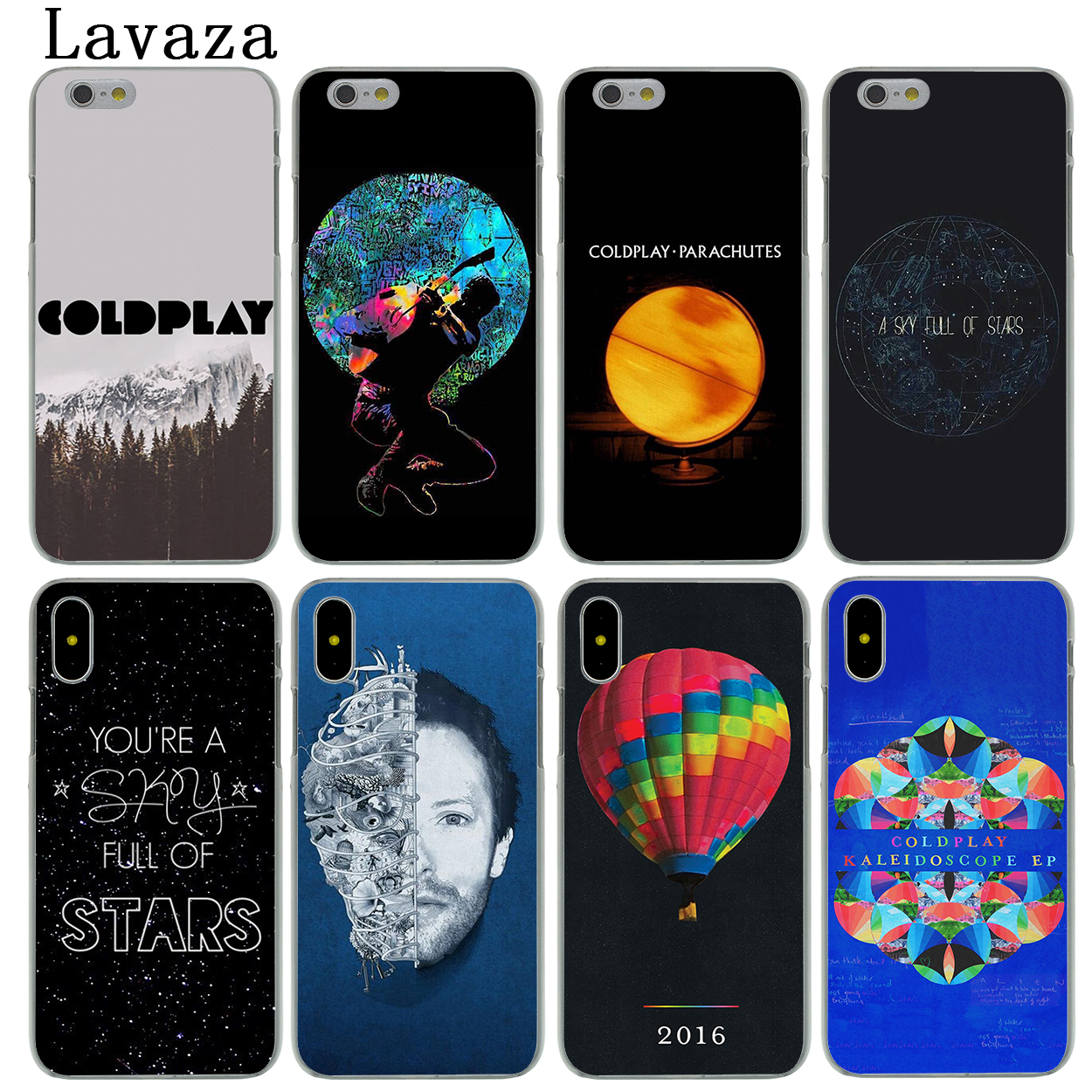 COLDPLAY FULL COLOR ART iphone case