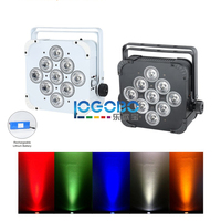 2pcs/lot LED Uplight Battery Powered Wireless DMX Par Can 9x15W RGBAW Wedding Party Stage DJ Church Theatre Decorative Effect Up
