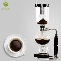 Mrosaa 500ML 5 Cups Japan Style Siphon Coffee Maker Syphon Maker Tea Siphon Pot 500ML Coffee Pots Coffeeware Gifts
