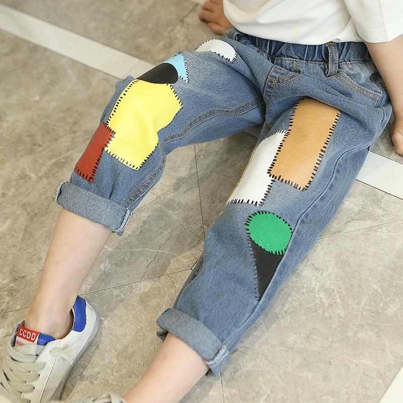 Primavera 2019 Nuevos pantalones vaqueros para niñas Pantalones - Ropa de ninos
