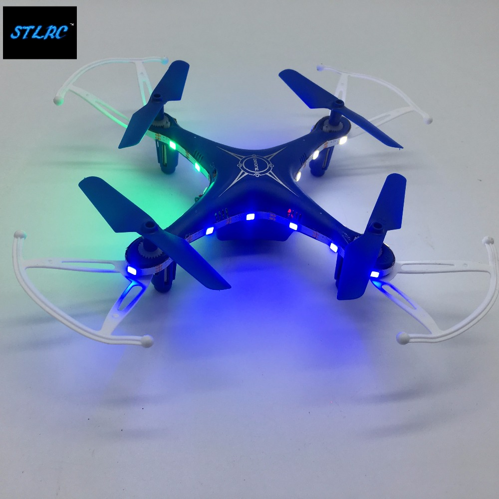 New cheap price mini X5 2 4G 4CH mini rc drone with flash LED lights