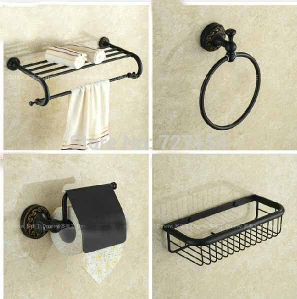 Venetian Bronze Bathroom Accessories New Oil Rubbed Bronze Bathroom Accessories Towel Holder Towel Ring W- Bath  Shelf