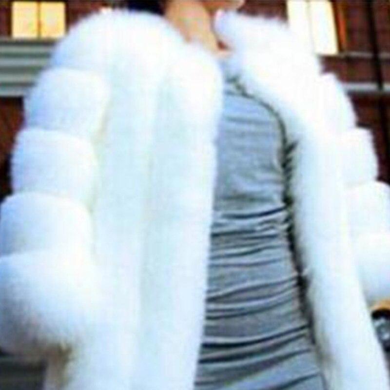 pink Chaud En Élégant Survêtement Courtes blue Veste Femmes Peluche D'hiver Shaggy Rose white Vêtements Luxe Faux Femelle Fausse Black Fourrure Manteau grey red De 05q1q