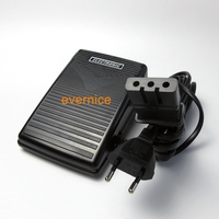 220V Sewing Machine Foot Control Pedal & Power Cord J00360051 For Babylock Brother