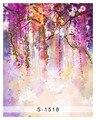 Виниловый фон для студийной фотосъемки с компьютерной росписью ткань 150х200см цветы тема мечта свадьба студия фон