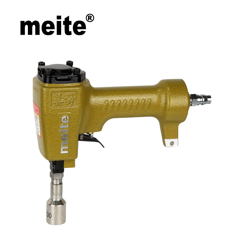 MEITE pneumatic air decoration nails gun ZN2830 in head diameter 28.3mm for furniture,picture frame and shoes May.5 update tool meite nail gun zn0960 in head diameter 9 6mm pneumatic air nailer gun for the decoration of furniture shoes apr 17 update tool
