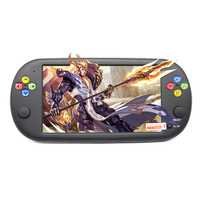 7 Inch Portable Game Console Built in 1500 Games Handheld Game Player Retro Mini Console for neogeo/arcades/nes Video Games