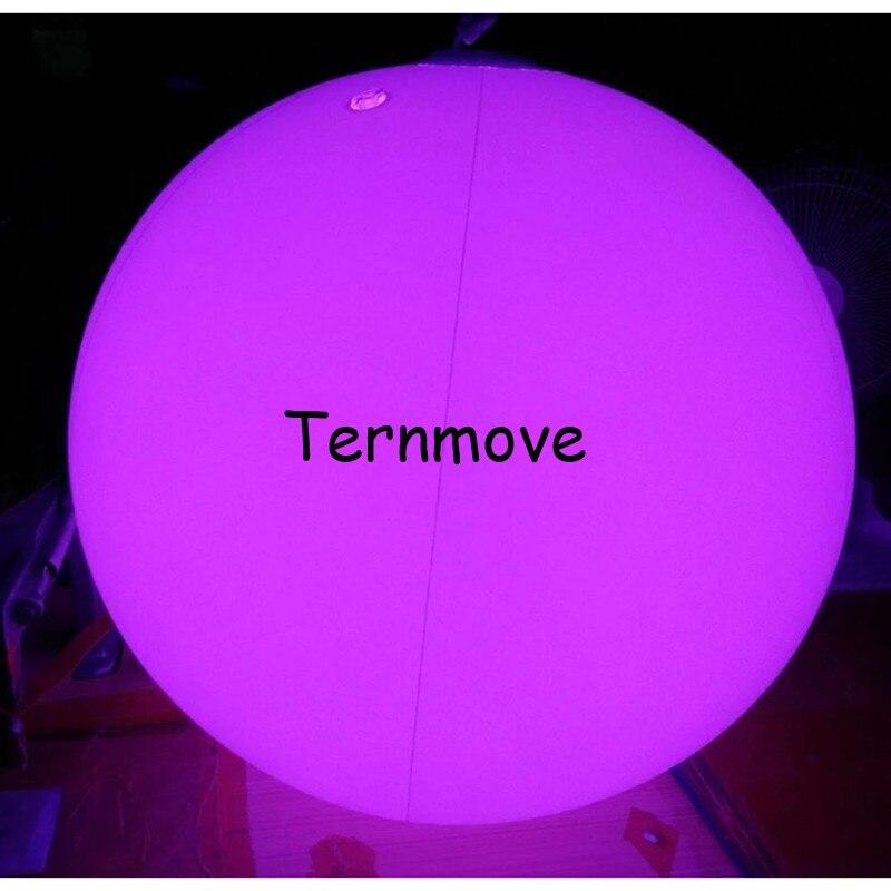 Надувной шар для концерта, вечерние, пляжные, водные игры, сенсорный цвет, меняющий потолок, декоративный светодиодный надувной шар для осве