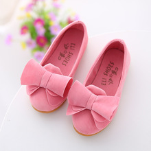 Children Kids Shoes For Girls 2019 Summer Sweet Cute Bowknot Dance Princess Sangle Casual Sneakers