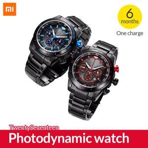 Image 1 - Оригинальные фотодинамические часы TwentySeventeen, умные часы с сапфировой поверхностью и японским механизмом, спортивные часы для Xiaomi