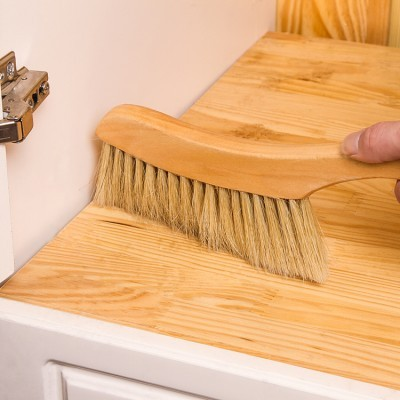 Solid wooden bed brush cleaning brush Sofa bed sheet sweep bed brush 31.5cm*20cm*5cm free shipping 4