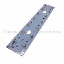 10pcs 257mm x 47mm Aluminium PCB Circuit Board for 14PCS 1W,3W,5W LED In Series