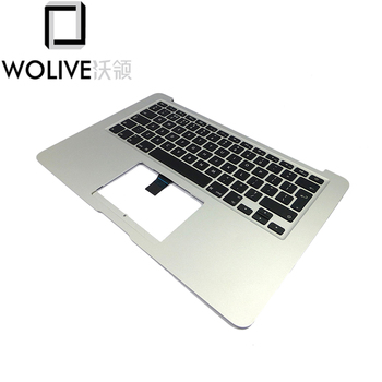 """Wolive Original Top case For Macbook Air 13"""" A1466 UK topcase palmrest with keyboard Backlit  Touchpad 2013-15 Year"""