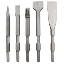 Pointed Widen Flat U-Shaped Hexagonal Chisel Concrete Electric Hammer Drill Bits Set