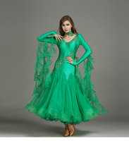 Modern dress Ballroom dance dress skirt match