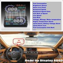 Liislee Car HUD Head Up Display For BMW 7 E65 E66 E67 E68 F01 F02 Refkecting Windshield Screen Safe Driving Screen Projector car hud head up display for bmw 7 e65 e66 e67 e68 f01 f02 refkecting windshield screen saft driving screen projector