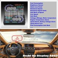 Liislee Car HUD Head Up Display For BMW 7 E65 E66 E67 E68 F01 F02 Refkecting Windshield Screen Safe Driving Screen Projector