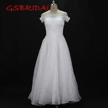 Custom made Wedding Dress 2017 Lace Bridal Dresses vestidos de noiva robe de mariage Boat Neck Wedding Dresses