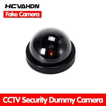 Беспроводная домашняя охранная поддельная камера, имитация видео наблюдения в помещении/на улице, манекен для наблюдения, ИК-светодиодная ...