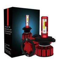 H4 Car Lights Bulbs H7 Auto Headlights LED 9003 HB2 HB3 H11 LED H1 H3 H8 H9 880 881 h27 H4LED 9006 H13 9004 9007 Fog Lights