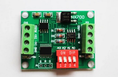 FREE SHIPPING AD Module For Weighing Sensor, Measuring Force Module, 24bit Analog To Digital Conversion 485 Communication