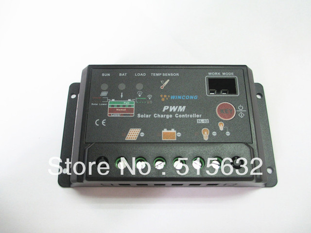 New Upgrade version 10A Solar Charge Controller /Solar System Protection /Solar Regulator