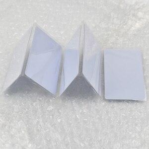 Image 3 - 100 pièces/lot NFC Tag NFC 216 888 octets ISO14443A PVC cartes blanches pour Android, téléphones IOS NFC