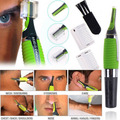 Hot Micro Precision Ear Eyebrow Nose Trimmer Multifunction Personal Electric Built In LED Light Face Care Hair Trimmer