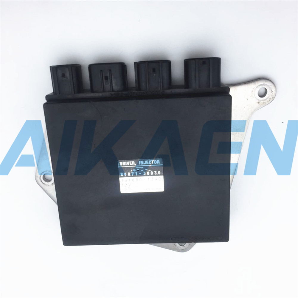 US $148 5 34% OFF|Used Engine control unit FUEL DRIVER INJECTOR ECU 89871  30030 131000 1340 fir for toyota LEXUS IS250 IS350 GS300 89871 30030-in