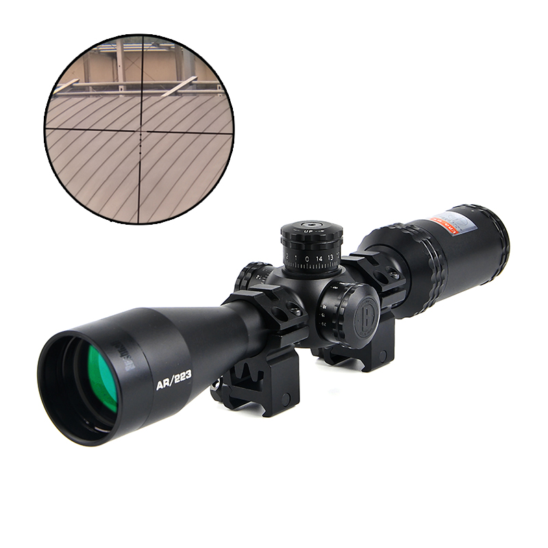 BUSHNELL 3-12x40 Drop Zone-223 BDC Tactical Optics Riflescope Optic Sight Reticle Sight Hunting Scopes For Airsoft Air Guns discovery vt t 4 5 18x44sfvf white leters reticle side shooting hunting riflescope rangefinder for airsoft air guns