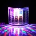 6LED Мини Бабочка Этап Led Света Этапа Портативный RGB Звук DJ Light Партии Огни DMX512 Control Рождество Лазерный Проектор
