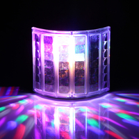 6LED Mini Butterfly Stage Led Stage Lights Portable RGB Sound DJ Light Party Lights DMX512 Control