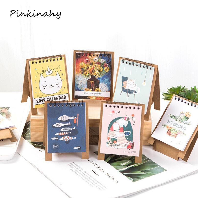 Calendars, Planners & Cards Sporting 2019 Simple Series Perpetual Calendar Diy Desktop Calendar Agenda Organizer Daily Schedule Planner Calendar