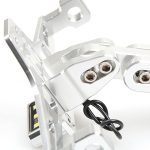 Image 5 - Accessoires universels support de plaque dimmatriculation de moto pour kawasaki z750 z800 versys 650 er6n ninja 300 400 zx6r pièces zxr750