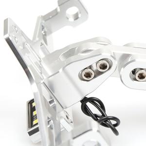 Image 5 - Universale Accessori Moto Targa Staffa Per kawasaki z750 z800 versys 650 er6n ninja 300 400 zx6r parti zxr750