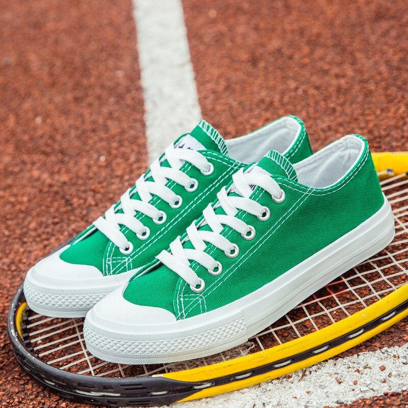 Zapatos Mode Haute Noir jaune Noir Lacets Qualité Homme À Chaussures Nouvelle Hommes Blanc Printemps Plates Été Toile Vulcaniser De blanc gris vert mNnvO80w