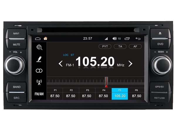 S190 Android 7.1 car dvd gps For FORD C-MAX (2006-2010) Car Audio player navigation head unit device BT WIFI 3G