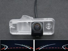 Trajectory Tracks 1080P Fisheye Lens Car Parking Rear view Camera For Hyundai ix25 2014 2015 2016 Waterproof Backup Camera