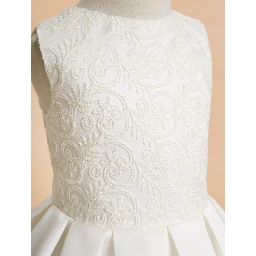LAN TING BRIDE A-line kotníkové délky Květinové dámské šaty - Šaty pro svatební hostiny - Fotografie 4