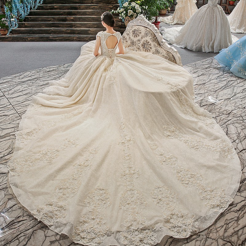 Backlake Vestidos de casamento wedding dress 2018 vestido de noiva renda online shop china robe de mariage abito da sposa abiy
