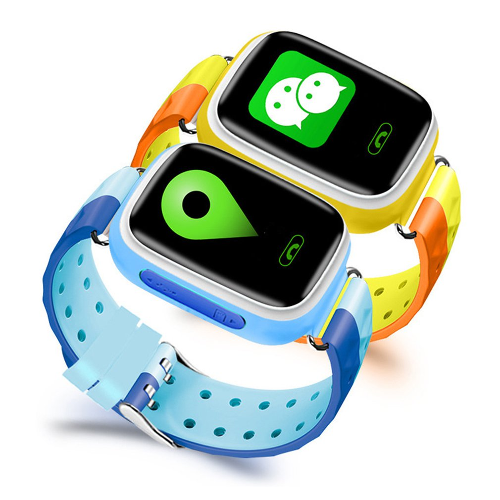 Q80S/Q80 Smart Watch SOS Call Anti Lost Location Tracker Smart Watch Color Screen Two-way Audio Children Watch