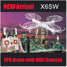 With Cameras X6SW 2.4G Remote Control Toys 4CH 6-Axis gyroscope RC Quadcopter RC Helicopters Radio Control Aircraft RTF Drone