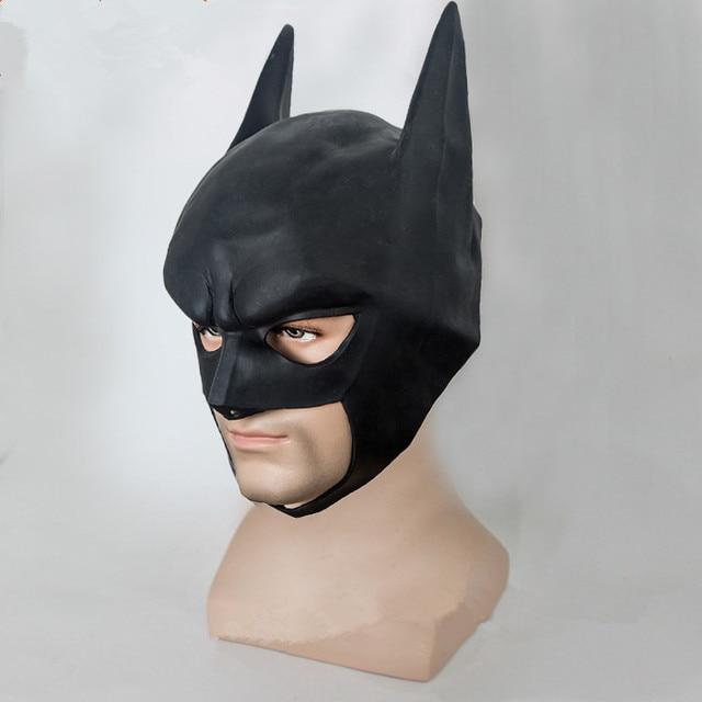 halloween visage masques casque batman bande dessin e spectacle noir masque de partie de. Black Bedroom Furniture Sets. Home Design Ideas