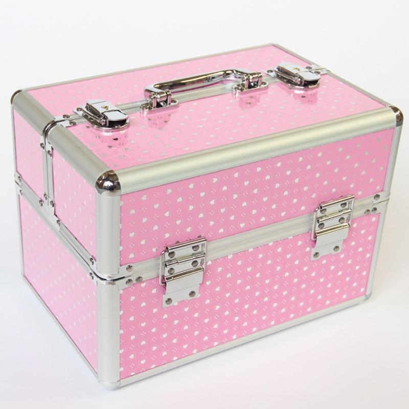 Купить чехол для путешествий с алюминиевой рамкой косметический профессиональный