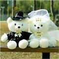 2 шт./пара 20/40 см; Свадебные туфли с рисунком медведя; Плюшевые игрушки, а так же кукла Мишка Тедди Свадебный подарок медведь жених и невеста р...