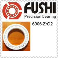 6906 Full Ceramic Bearing ( 1 PC ) 30*47*9 mm ZrO2 Material 6906CE All Zirconia Ceramic 6906 Ball Bearings