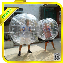Free shipping ! 1.0mm top quality tpu inflatable bubble ball tpu
