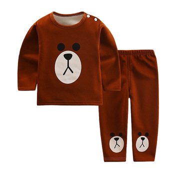 Suits Baby Girl Set Clothes 2018 Spring Autumn Cartoon Leisure Long Sleeved T-shirts + Pants Newborn Baby Girl Clothes Suits Girls Clothing Sets