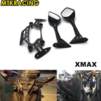 Motorcycle front Stand Holder Smartphone For Yamaha XMAX X MAX 250 300 2017 2018 Mobile Phone bracket GPS Plate mirror Bracket